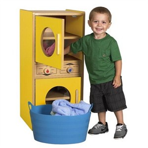 ECR4Kids Colorful Essentials Washer/Dryer - 3 color choices