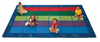 Colorful Places Classroom Rug Factory Second 8'4 x 13'4