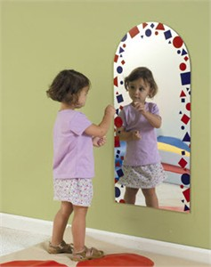 Confetti Archway Shatter Resistant Mirror