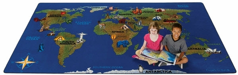 Continental Wonders Factory Second Rug 6' x 10'