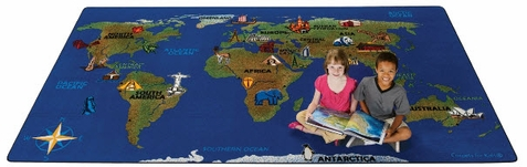 Continental Wonders School Rug Factory Second 7' x 12'