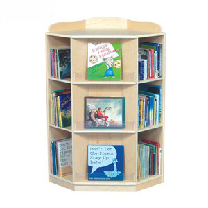 Corner Nook Book Display