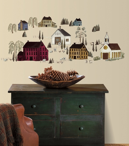 Country Scenic Wall Decals