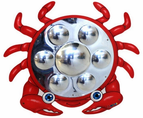 Anatex Crab Mirror Wall Toy