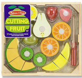 Cutting Fruit Crate Toy