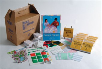 Decimal Squares Classroom Center Set