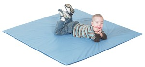 Deep Water & Light Sky Blue Activity Mat