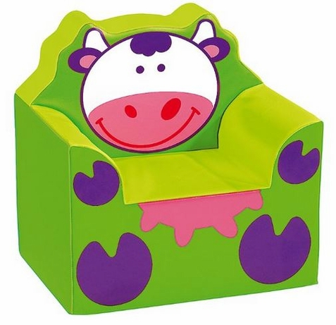 WESCO Dense Foam Cow Armchair for Kids