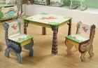 Dinosaur Kingdom Table and 2 Chairs Set