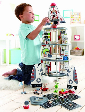 Discovery Spaceship and Lift Off Rocket Play Set