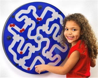 Dizzy Disks Wall Activity Toy