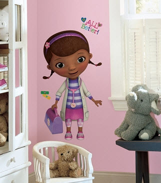 Doc McStuffins Wall Decal