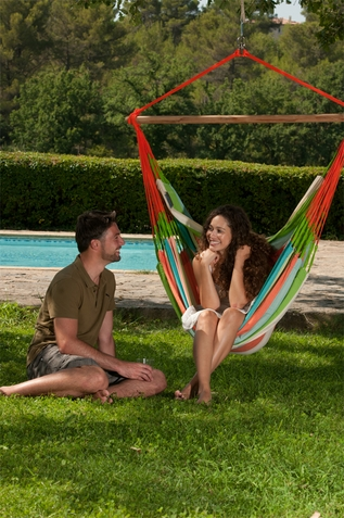 Hammock Chair Lounger Domingo Coral