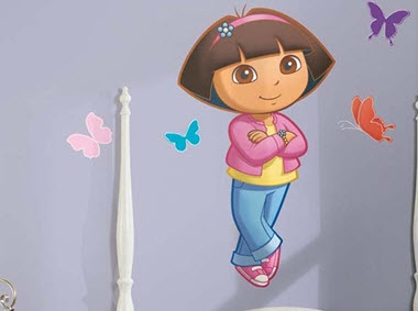 Dora the Explorer Wall Decal