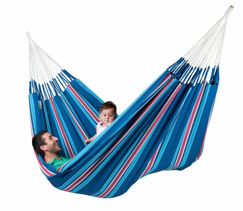 La Siesta Currambera Blueberry Double Hammock