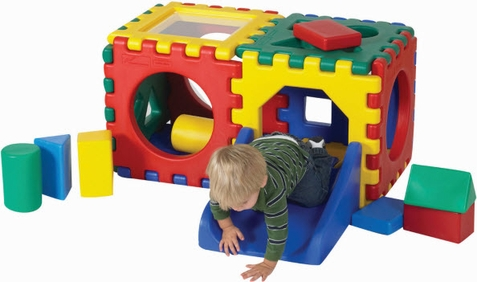 Double Jr. Snap Cube Set w/ Set of 16 Blocks