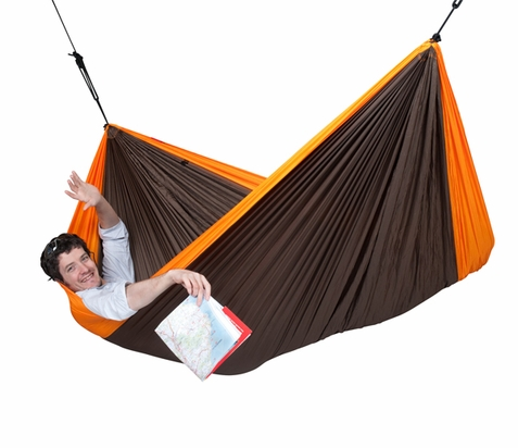 Colibri Orange Double Travel Hammock - Free Shipping