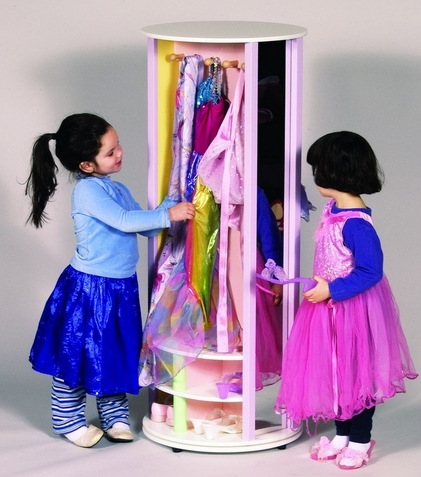 Dress-up Carousel in Pastels