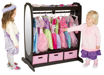 Dress-Up Chocolate Storage Center - Out of Stock