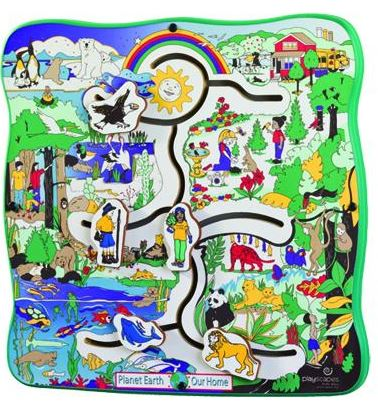 Earth Journeys Wall Toy