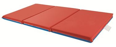 "ECR4Kids 1"" Thick 3-Fold Rest Mat - Set of 5"