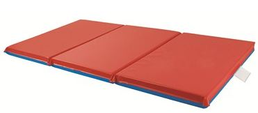 "ECR4Kids 2"" Thick 3-Fold Rest Mat - Set of 5"