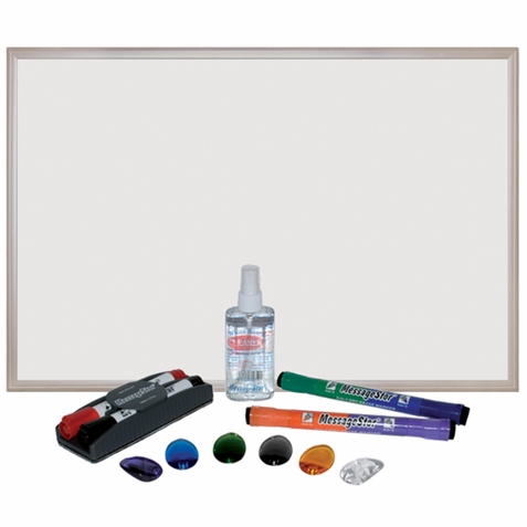 "ECR4Kids 24""x36"" Magnetic Dry-Erase Set"