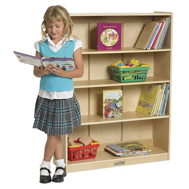 "ECR4Kids 48""H Classic Birch Bookcase - Out of Stock"