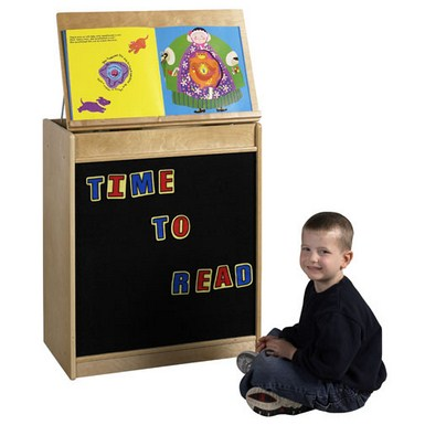 ECR4Kids Big Book Display and Storage - Flannel