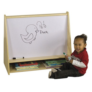 ECR4Kids Birch Pic-A-Book Stand