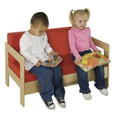 ECR4Kids Birch Sofa