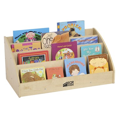 ECR4Kids Birch Toddler Book Display - Out of Stock