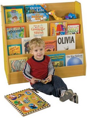 ECR4Kids Colorful Essentials Big Book Display Stand