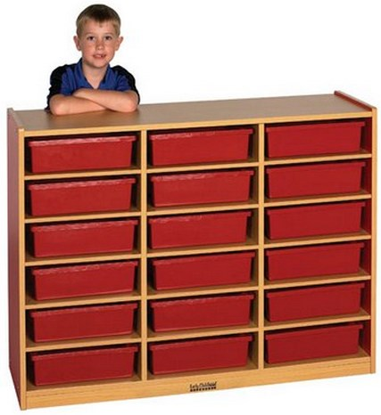 ECR4Kids Colorful Essentials Multi-Purpose Cabinet-18 Comp