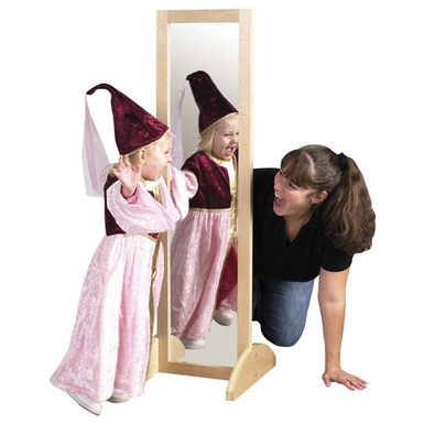 ECR4Kids Double Sided Bi-Directional Birch Mirror