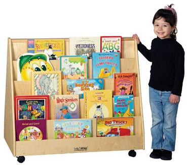 ECR4Kids Double-Sided Book Display