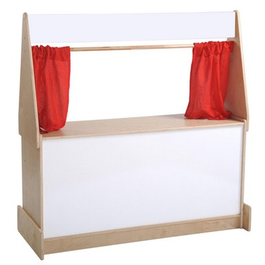 ECR4Kids Puppet Theater with Dry-Erase Board
