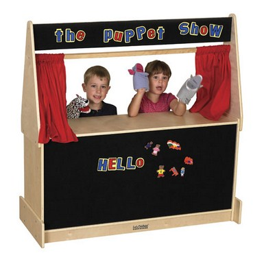 ECR4Kids Puppet Theater w/ Flannel Panel
