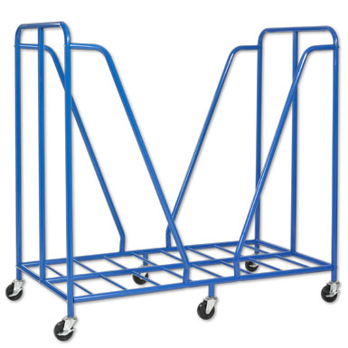 ECR4Kids Rest Mat Trolley - Blue
