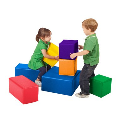 ECR4Kids SoftZone 7 Piece Big Blocks