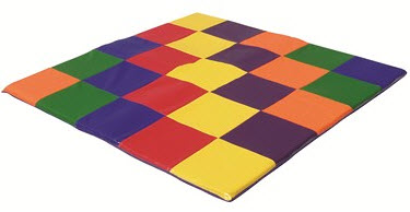 ECR4Kids SoftZone Patchwork Toddler Mat