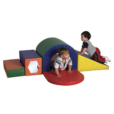 ECR4Kids SoftZone Slide & Crawl Set
