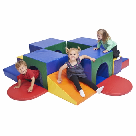 ECR4Kids SoftZone Tunnel Maze