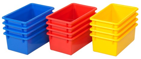 ECR4Kids Stack & Store Tub without Lid 15 Piece