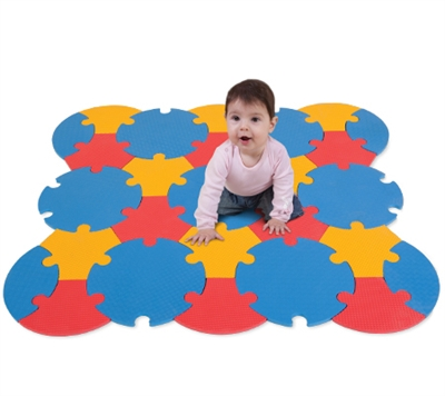 Edu Tiles - Circle Mat 27 Piece Set - Free Shipping