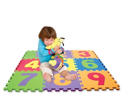 Edu Tiles Numbers - 10 Piece Set - Free Shipping