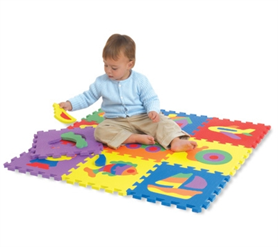 Edu Tiles - Puzzles - 10 Piece Set - Free Shipping