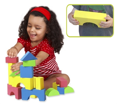 Edushape Educolor Blocks - 80 Piece Set