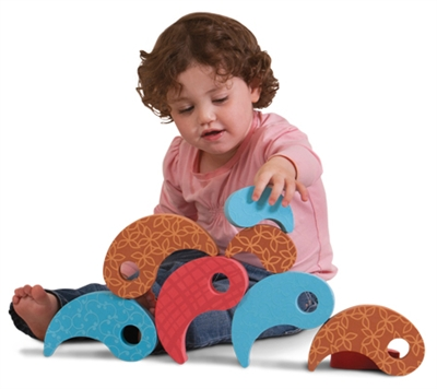 Edushape Build-A-Drop - 27 Piece Set