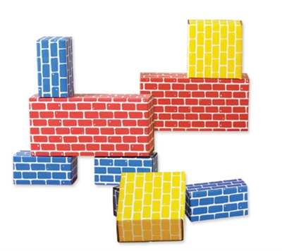 Corrugated Blocks - 52 Piece Set - Free Shipping